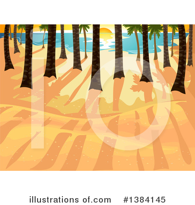 Palm Trees Clipart #1384145 by BNP Design Studio