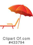 beach umbrella clipart #433795 - illustrationpams clipart