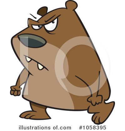 Bear Clipart #1058395 by toonaday