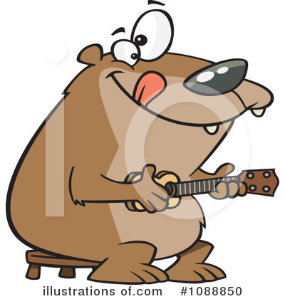 Bear Clipart #1088850 by toonaday