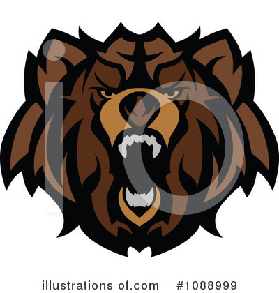 Bear Clipart #1088999 by Chromaco