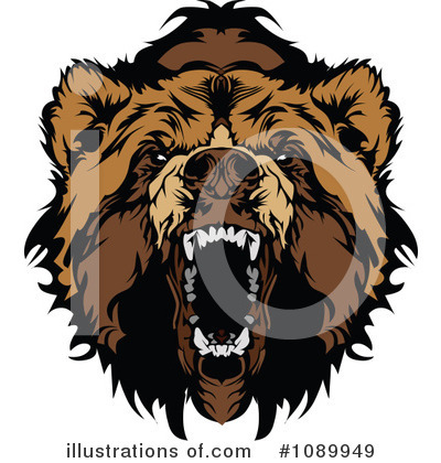 Bear Clipart #1089949 by Chromaco