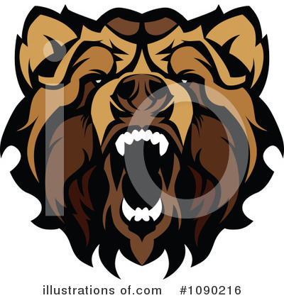 Bear Clipart #1090216 by Chromaco