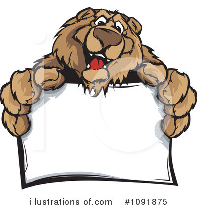 Bear Clipart #1091875 by Chromaco