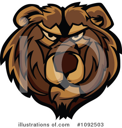 Bear Clipart #1092503 by Chromaco