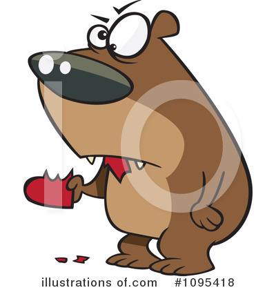 Bear Clipart #1095418 by toonaday
