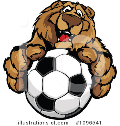 Bear Clipart #1096541 by Chromaco