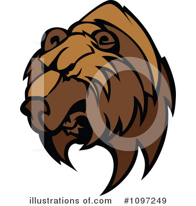 Bear Clipart #1097249 by Chromaco