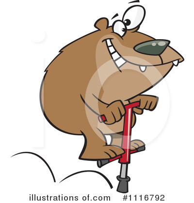 Bear Clipart #1116792 by toonaday
