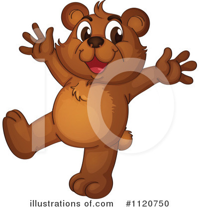 Bear Clipart #1120750 by Graphics RF