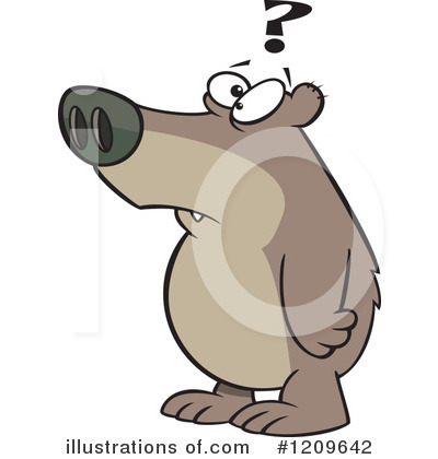 Bear Clipart #1209642 by toonaday