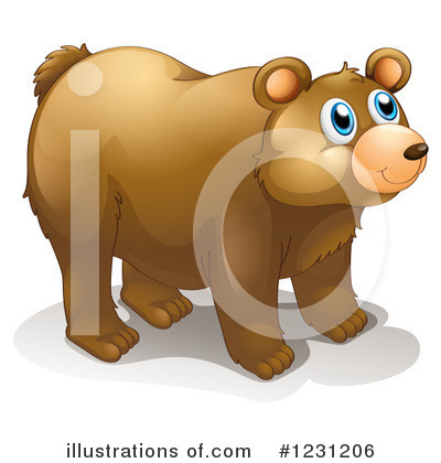 Bear Clipart #1231206 by Graphics RF