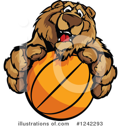 Bear Clipart #1242293 by Chromaco