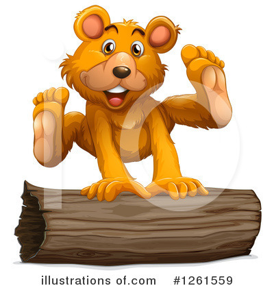 Bear Clipart #1261559 by Graphics RF