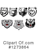 Bear Clipart #1273864 by Vector Tradition SM