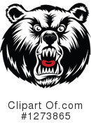 Bear Clipart #1273865 by Vector Tradition SM