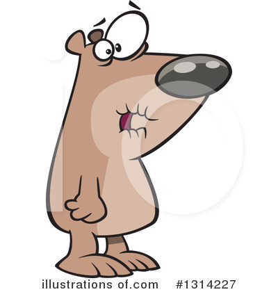 Bear Clipart #1314227 by toonaday