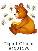 Bear Clipart #1331570 by Graphics RF
