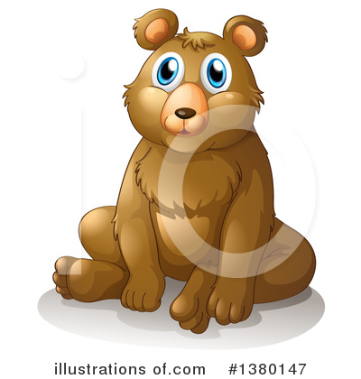 Bear Clipart #1380147 by Graphics RF