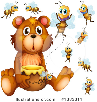 Bee Clipart #1383311 by Graphics RF