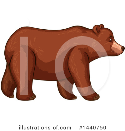 Bear Clipart #1440750 by Graphics RF