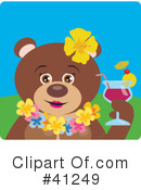 Bear Clipart #41249 by Dennis Holmes Designs