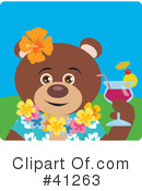 Bear Clipart #41263 by Dennis Holmes Designs