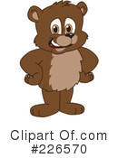 Bear Mascot Clipart #226570 by Toons4Biz