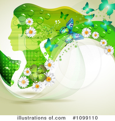Spring Background Clipart #1099110 by merlinul