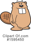Beaver Clipart #1595450 by Johnny Sajem