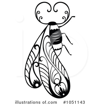 Bee Clipart #1051143 by Cherie Reve