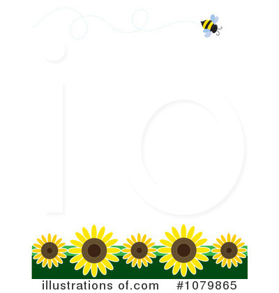 Royalty-Free (RF) Bee Clipart Illustration by Maria Bell - Stock Sample #1079865