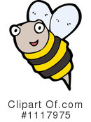 Bee Clipart #1117975 by lineartestpilot