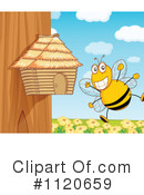 Bee Clipart #1120659 by Graphics RF
