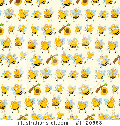 Bee Clipart #1120663 by Graphics RF