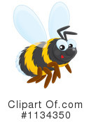 Bee Clipart #1134350 by Alex Bannykh