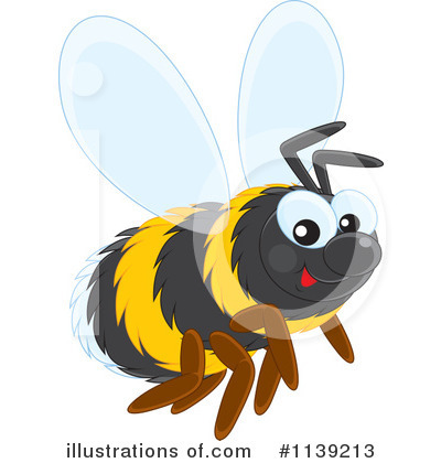Bee Clipart #1139213 by Alex Bannykh