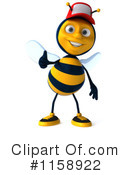 Bee Clipart #1158922 by Julos