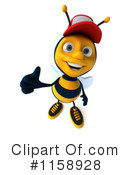 Bee Clipart #1158928 by Julos