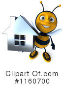 Bee Clipart #1160700 by Julos