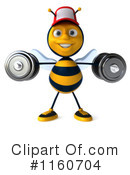 Bee Clipart #1160704 by Julos