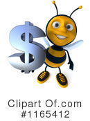 Bee Clipart #1165412 by Julos