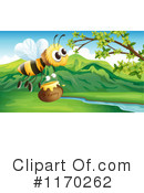 Bee Clipart #1170262 by Graphics RF