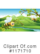 Bee Clipart #1171710 by Graphics RF
