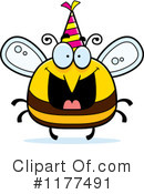 Bee Clipart #1177491 by Cory Thoman