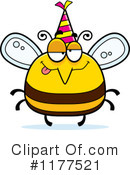 Bee Clipart #1177521 by Cory Thoman