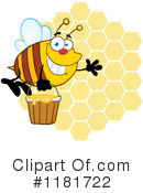 Bee Clipart #1181722 by Hit Toon