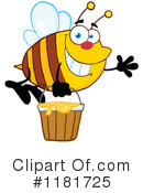 Bee Clipart #1181725 by Hit Toon