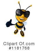 Bee Clipart #1181768 by Julos