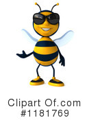 Bee Clipart #1181769 by Julos